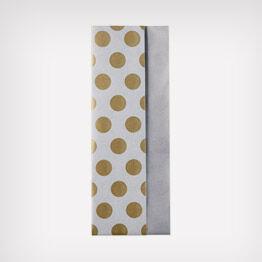 Polka-dot tissue paper