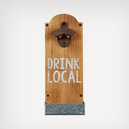 "Mud Pie® ""Drink Local"" bottle opener"
