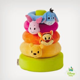 Winnie the Pooh stuffed animal ring stacker
