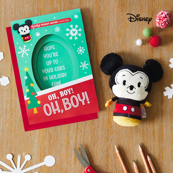 Mailable, giftable and memorable, these itty bittys® greeting cards are a card and gift in one!