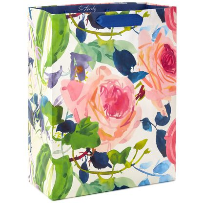 Watercolor Floral XL Gift Bag 155