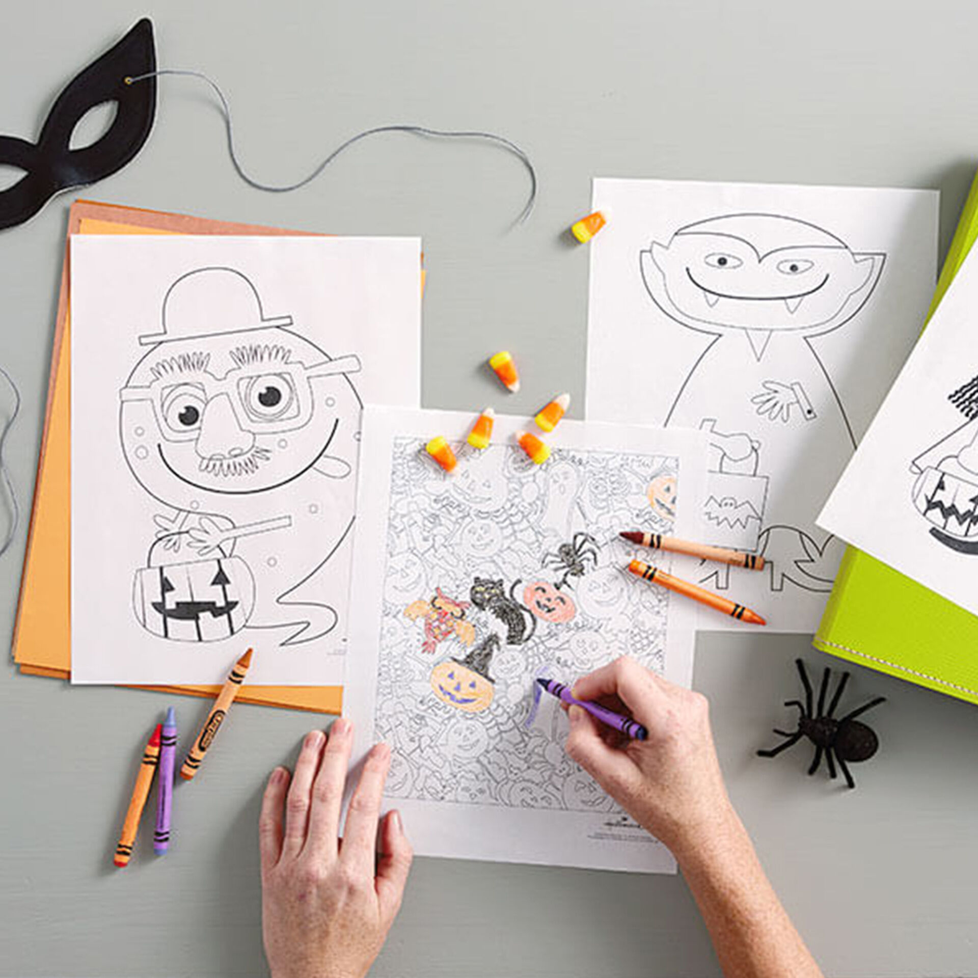 Halloween Coloring Pages | Hallmark Ideas & Inspiration