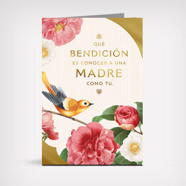 Spanish-language Mother's Day card