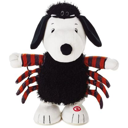 b2a371c6a29 Peanuts® Snoopy Spider Musical Stuffed Animal With Motion. Stuffed animals