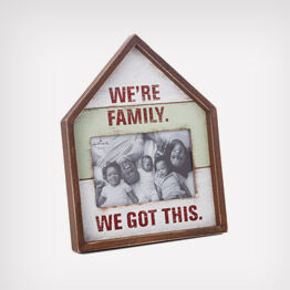 We're family picture frame