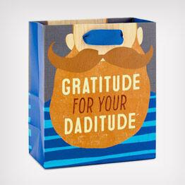 """""""Daditude"""" gift bag"""