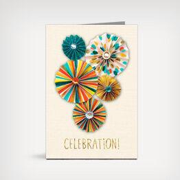 """Celebration"" Signature card"
