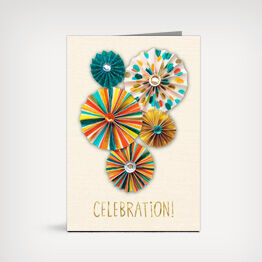 A Hallmark card is the best way to say happy birthday.