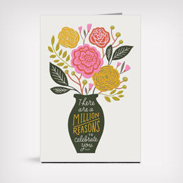 Million reasons Mother's Day card