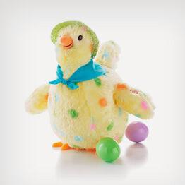 Squawkin' Egg Droppin' Hen dancing plush
