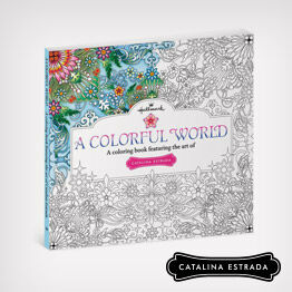 A Colorful World adult coloring book