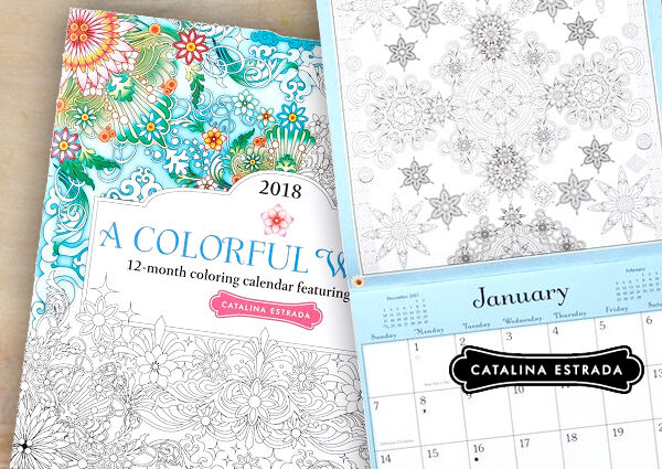 Prepare for next year with a new 2018 calendar to fit your style.