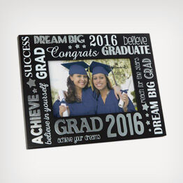 Shop from frames to figurines and pillows for the grad.
