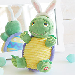Turtle interactive stuffed animal