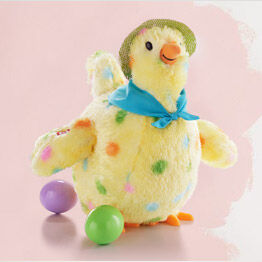Hen interactive stuffed animal