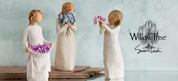 Friendship and Thank You Willow Tree® figurines