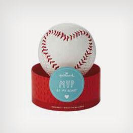 Stitched Heart Baseball