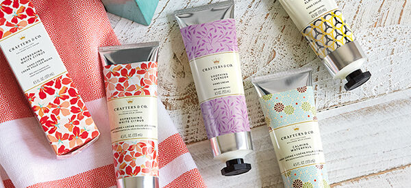 Crafters & Co. soaps and hand creams