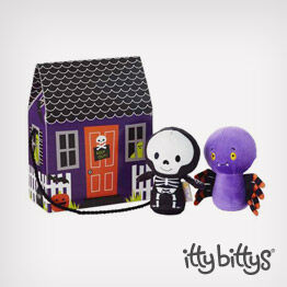 Spider and Skeleton itty bittys® plush