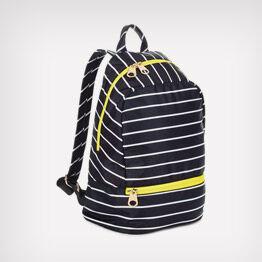 Mark & Hall striped backpack