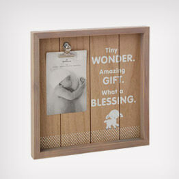 Tiny Blessing rustic photo display