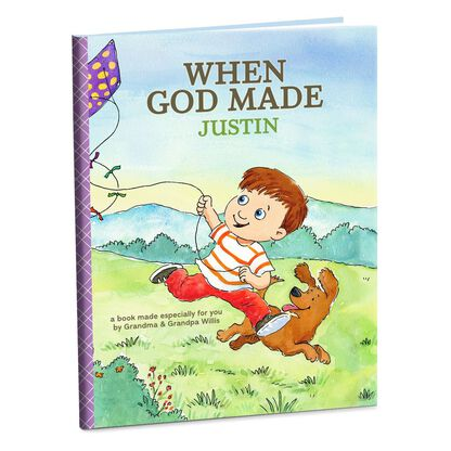 When God Made You Personalized Book