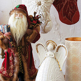 An heirloom collection of gifts, ornaments and more that reimagines history.