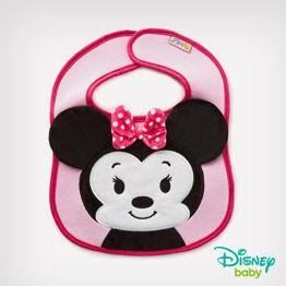 itty bittys® Minnie Mouse baby bib