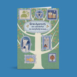 Send a little love in a Hallmark card made just for Grandparents Day.