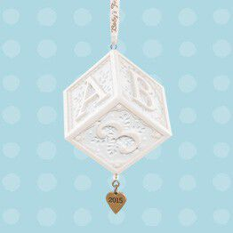 Remember your little one's birth and big milestones with Hallmark Keepsake Ornaments.
