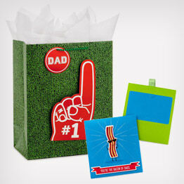 Number 1 Dad Gift Bag and gift card holders
