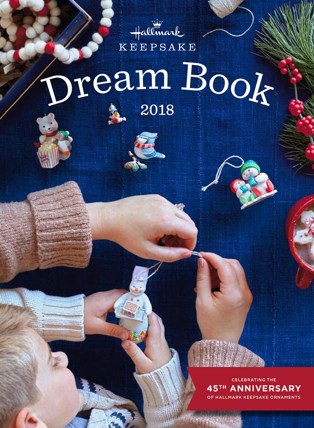 Hallmark Dream Book 2019 Browse Keepsake Ornaments Online Hallmark