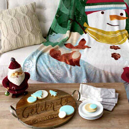 Find festive decor for the home.