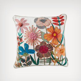 Embroidered pillow by Geninne Zlatkis for Hallmark Gold Crown