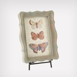 Heritage butterfly wall art