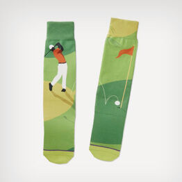 Golf Toe of a Kind Socks