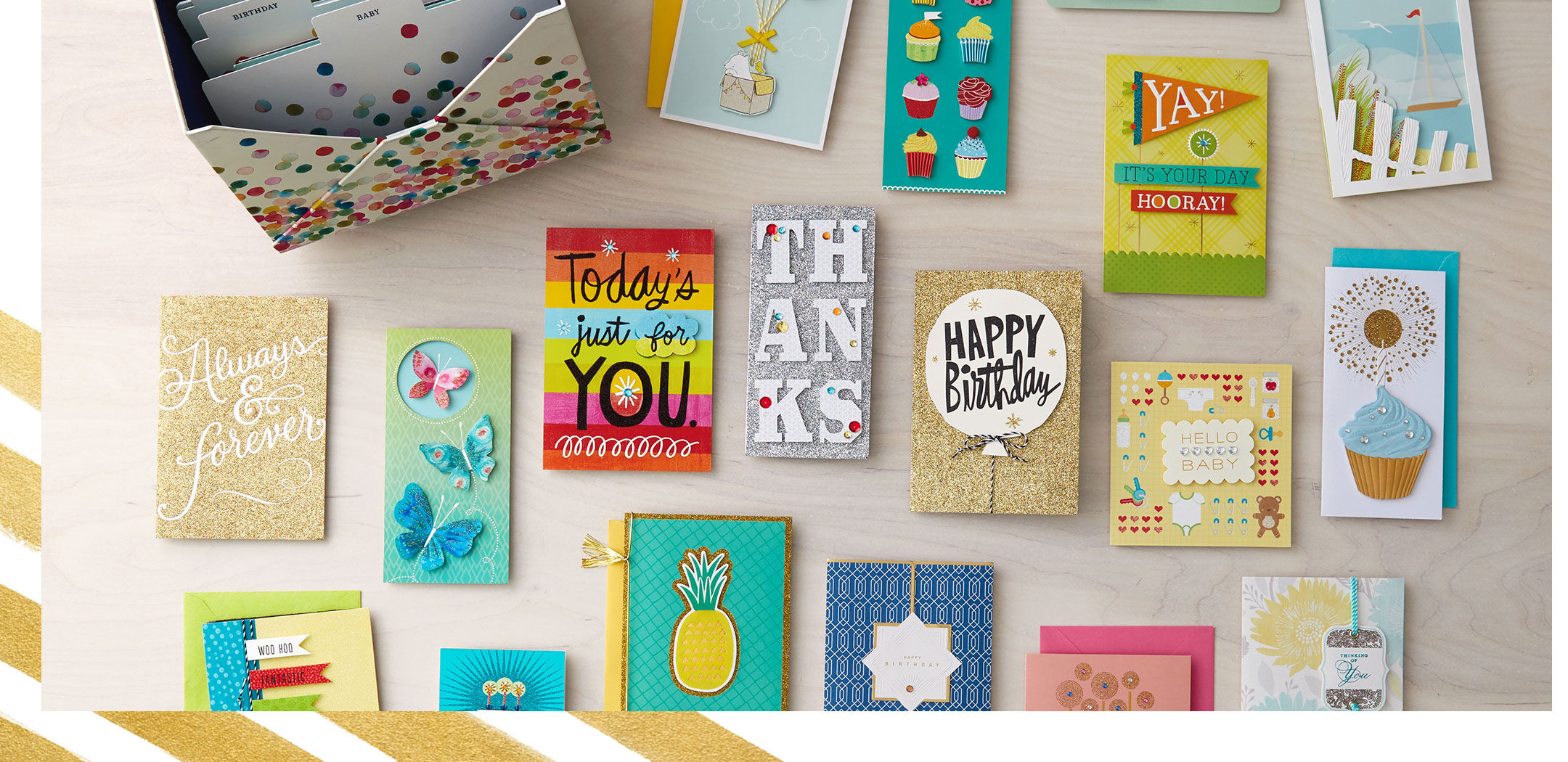 Prep For A Year Of Celebrations Stock Up On Greeting Cards