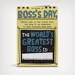 Shop Boss's Day cards at Hallmark.