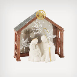 Nativity and Advent gifts tell the story of the season.