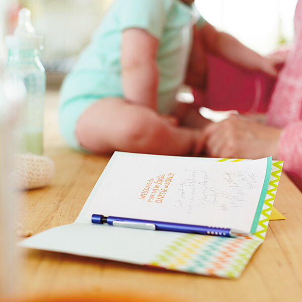What to write in a baby card