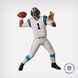 Football Legends Carolina Panthers Cam Newton ornament