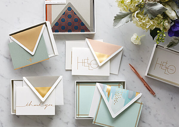 Buy one, get one 50% off stationery through Jan. 22.