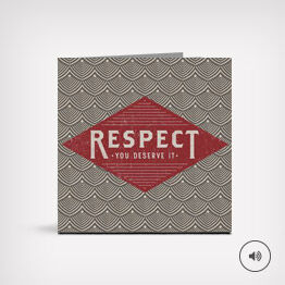 """""""Respect"""" Father's Day song card"""