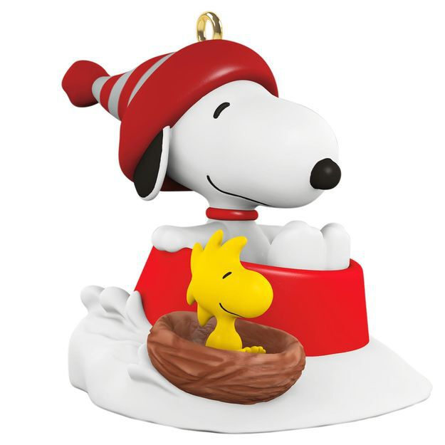 Snoopy Christmas Tree Topper: Ornaments