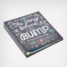 """The Story Behind the Bump"" Pregnancy Memory Keeper"