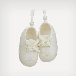 Baby booties ornament