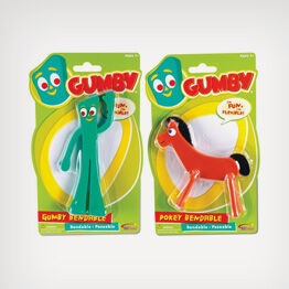 Gumby and Pokey poseable figures