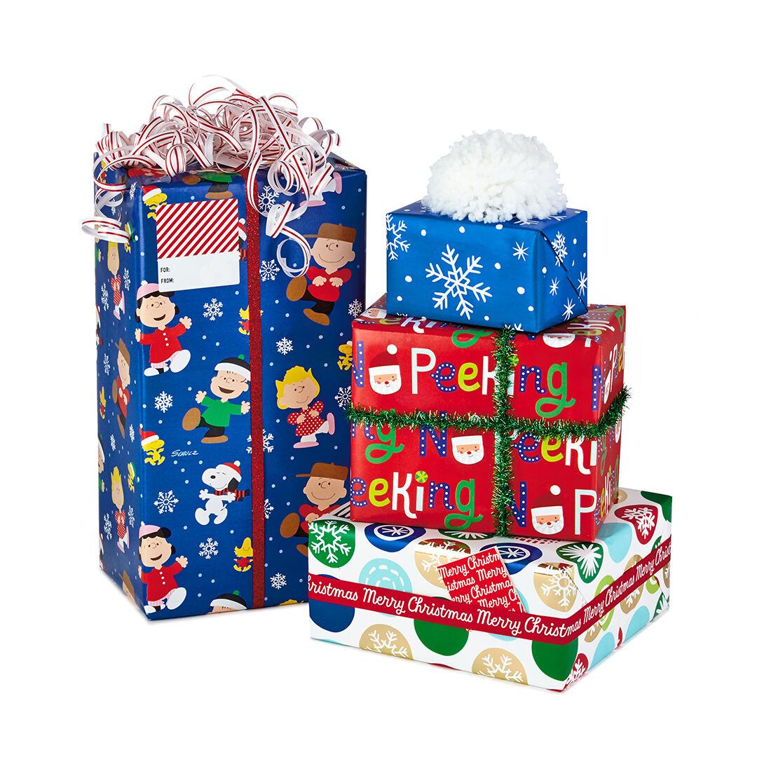 WRAPPING PAPER CHRISTMAS KIDS GIFT WRAP SANTA CLAUS DISNEY FROZEN THOMAS THE TAN