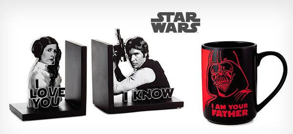 Star Wars mugs and decor
