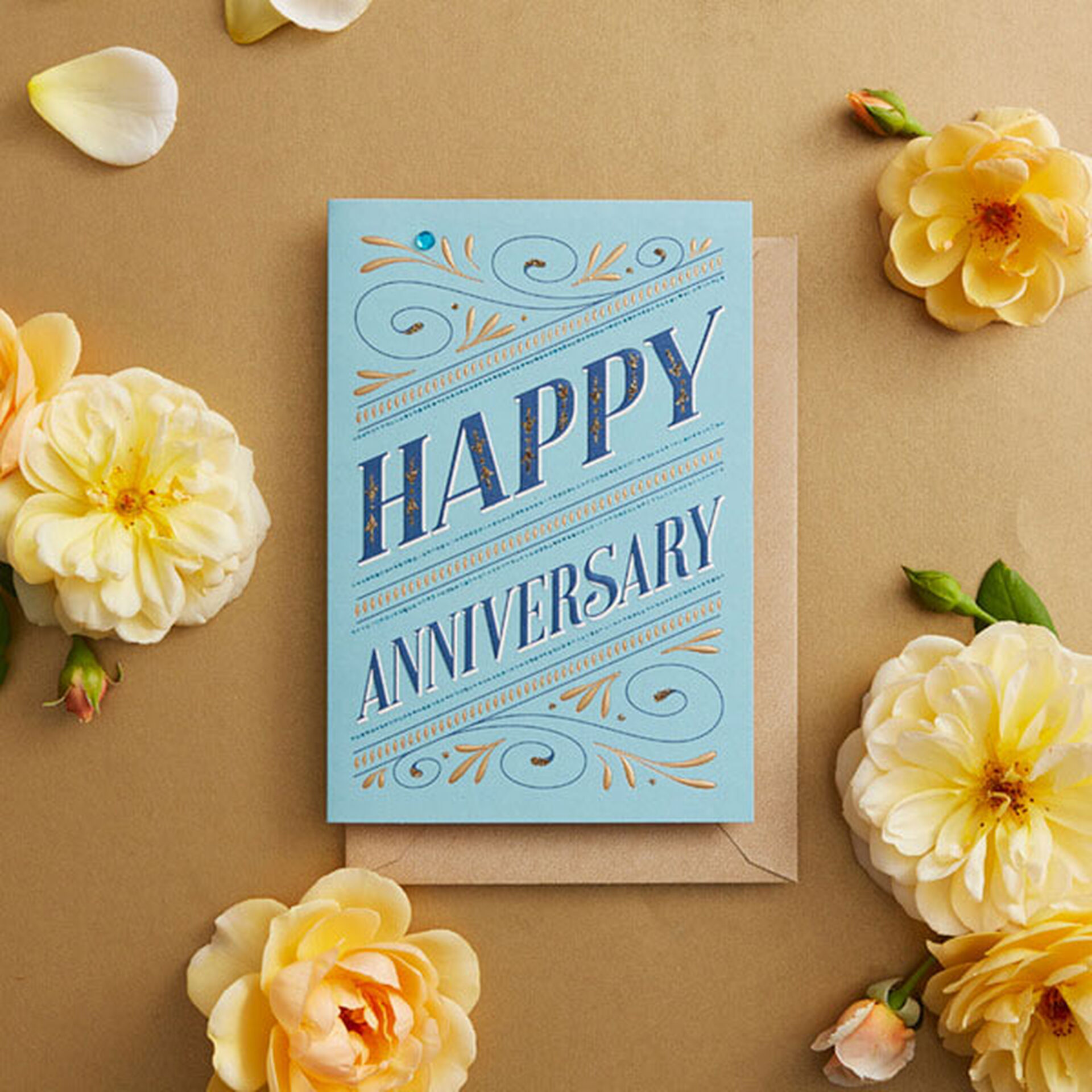 To My Special Wife Happy Anniversary Greetings Card.